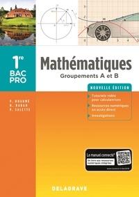Pierre Salette et Patrick Huaumé - Mathématiques 1re Bac Pro Groupements A et B.
