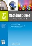 Pierre Salette et Joël Guilloton - Mathématiques Tle Bac Pro - Groupements A et B.