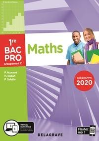 Maths 1re Bac Pro Groupement C- Pochette élève - Pierre Salette |