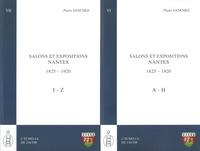 Pierre Sanchez - Salons et expositions Nantes (1825-1920) - Répertoire des exposants et liste de leurs oeuvres, 2 volumes.