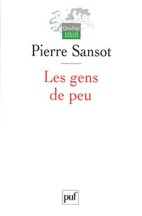 Pierre Sansot - Les gens de peu.