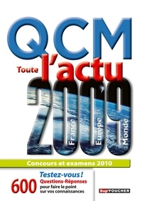 Pierre Savary - QCM Toute l'actu 2009.
