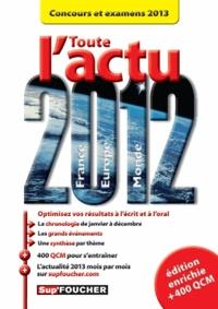Pierre Savary et Anne Ducastel - Toute l'actu 2012 - Concours et examens 2013.