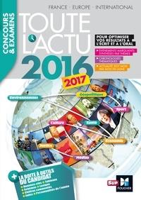 Pierre Savary et Michel Derczansky - Toute l'actu 2016 Sujets et chiffres de l'actualité 2016 - Concours & examens.