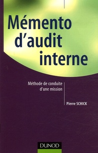 Mémento d'audit interne - Pierre Schick | Showmesound.org