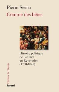 Galabria.be Comme des Bêtes - Histoire politique de l'animal en Révolution (1750-1840) Image