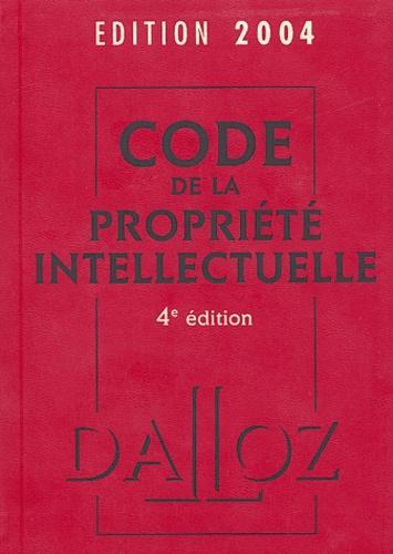 Pierre Sirinelli et Frédéric Pollaud-Dulian - Code de la propriété intellectuelle 2004.