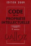 Pierre Sirinelli et Sylviane Durrande - Code de la propriété intellectuelle commenté 2009.