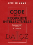 Pierre Sirinelli et Bertrand Warusfel - Code de la propriété intellectuelle - Commenté.