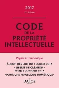Pierre Sirinelli et Sylviane Durrande - Code de la propriété intellectuelle.