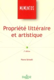 Pierre Sirinelli - Propriété littéraire et artistique.