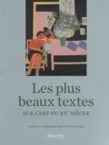 Pierre Sterckx - Les plus beaux textes sur l'art du XXe siècle.