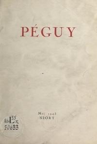 Pierre Suire - Péguy - Conférence, Niort, mai 1943.
