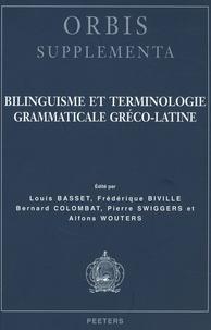 Pierre Swiggers et Alfons Wouters - Bilinguisme et terminologie grammaticale gréco-latine.