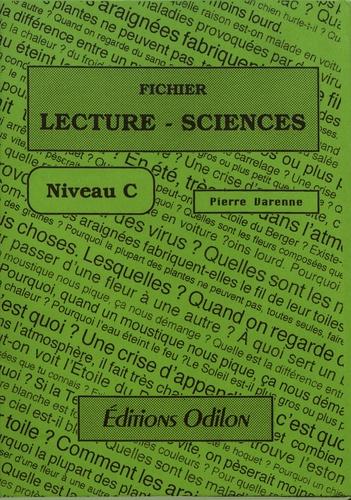 Pierre Varenne - Fichier Lecture-Sciences - Niveau C.
