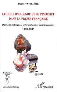 Corridashivernales.be Le Chili d'Allende et de Pinochet dans la presse française - Passions politiques, informations et désinformation, 1970-2005 Image