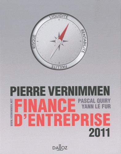 Pierre Vernimmen et Pascal Quiry - Finance d'entreprise 2011.