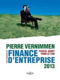 Pierre Vernimmen et Pascal Quiry - Finance d'entreprise 2013.