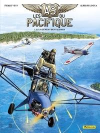 Pierre Veys et Alberto Lingua - Les as du Pacifique - tome 1 - Le jugement des Salomon 1/2.