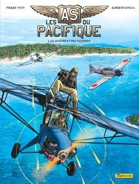 Pierre Veys et Alberto Lingua - Les as du Pacifique Tome 1 : Le jugement des Salomon.