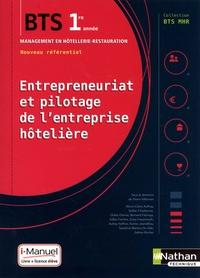 Entrepreneuriat et pilotage de l'entreprise hotelière BTS MHR 1re année - Pierre Villemain pdf epub