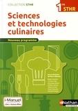 Pierre Villemain - Sciences et technologies culinaires 1re STHR.