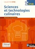 Pierre Villemain - Sciences et technologies culinaires 2e STHR.