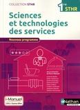 Pierre Villemain - Sciences et technologies des services 1re STHR - Livre + licence élève.