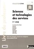 Pierre Villemain - Sciences et technologies des services Tle STHR - Livre du professeur.