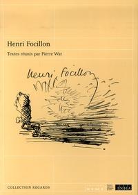 Pierre Wat - Henri Focillon.
