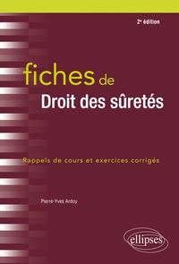 Fiches de droit des sûretés - Pierre-Yves Ardoy pdf epub