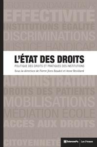 Accentsonline.fr L'Etat des droits - Politique des droits et pratiques des institutions Image