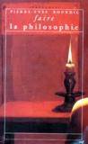 Pierre-Yves Bourdil - Faire la philosophie.