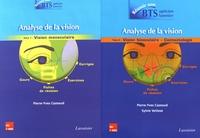 Pierre-Yves Cazeaud et Sylvie Vettese - Analyse de la vision - 2 volumes : Tome 1, Vision monoculaire ; Tome 2, Vision binoculaire - contactologie.