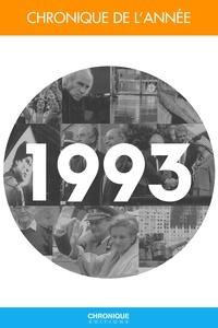 Pierre-Yves Grasset - Chronique de l'année.... - Chronique de l'année 1993.