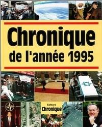 Pierre-Yves Grasset - Chronique de l'année.... - Chronique de l'année 1995.