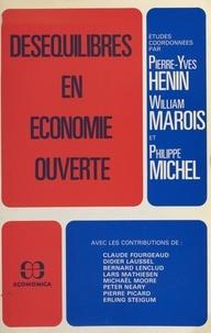 Pierre-Yves Hénin et William Marois - Déséquilibres en économie ouverte.