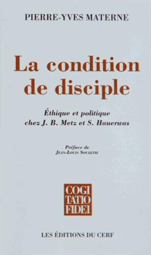 La condition de disciple. Ethique et politique chez J-B Metz et S Hauerwas