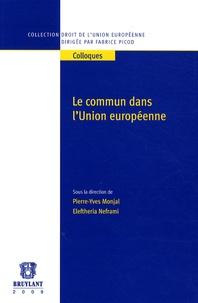Rhonealpesinfo.fr Le commun dans l'Union européenne Image