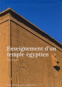 Pierre Zignani - Enseignement d'un temple égyptien - Conception architectonique du temple d'Hathor à Dendara.