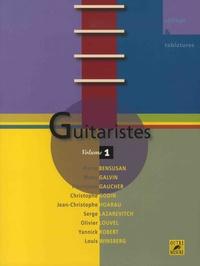 Pierrejean Gaucher - Guitaristes - Volume 1.