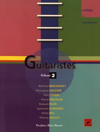 Pierrejean Gaucher - Guitaristes - Volume 2.