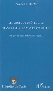 Deedr.fr Les soeurs de l'Hôtel-Dieu dans le Paris des XIVe et XVe siècles - Philippe du Bois, Marguerite Pinelle... Image