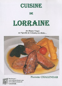 Pierrette Chalendar - Cuisine de Lorraine.