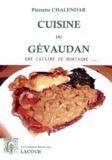 Pierrette Chalendar - Cuisine du Gévaudan.