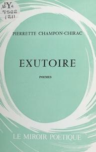 Pierrette Champon - Exutoire.