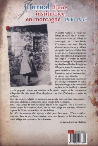 Journal d'une institutrice en montagne. 1936-1945