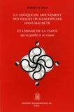 Pierrette Tison - La logique du mouvement des images de Shakespeare dans Macbeth - Et l'image de la vague qui se gonfle et se creuse.
