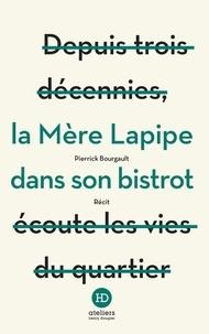Pierrick Bourgault - La mère Lapipe dans son bistrot.