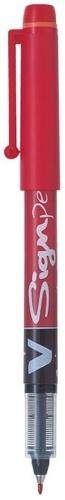 PILOT - Stylo feutre V-Sign Pen rouge